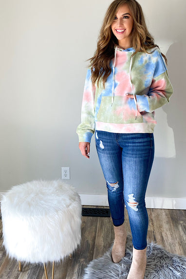 Fate Tie Dye Hooded Sweatshirt