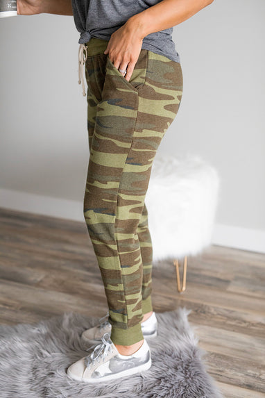 Camo Eco-Fleece Jogger