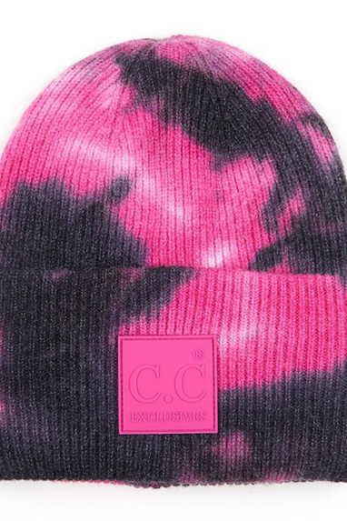 Tie Dye CC Beanies in Several Colors!