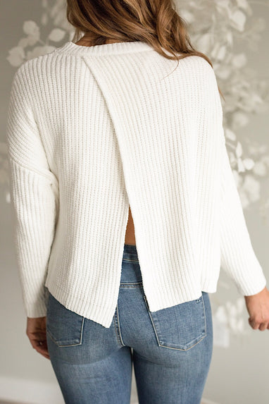 Crossback Sweater