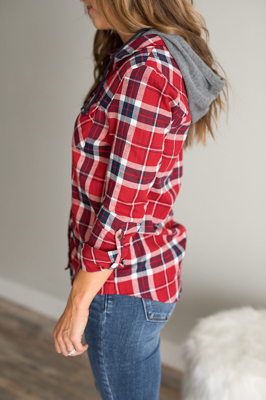 Downtown Hooded Flannel
