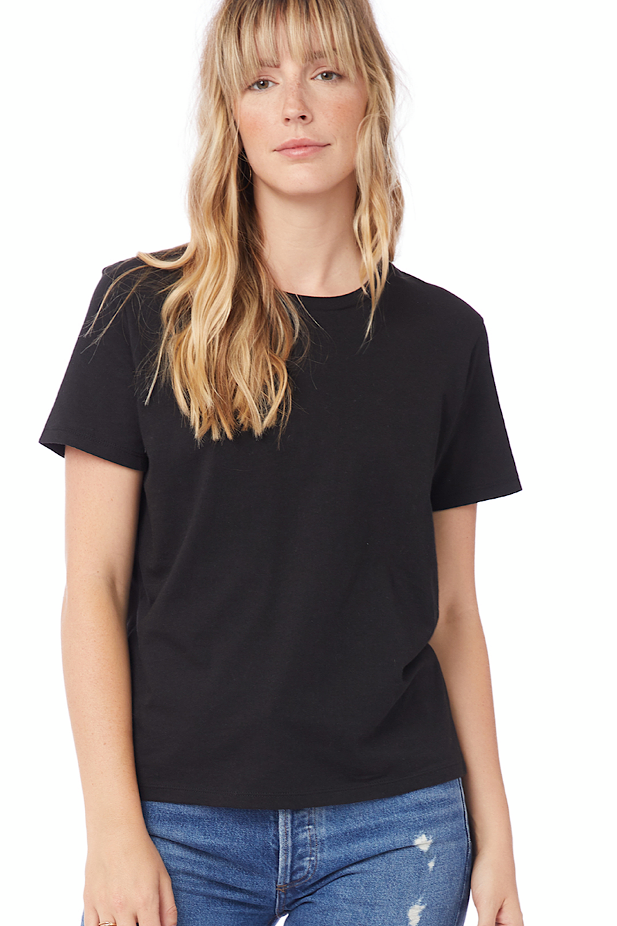Her Go-To T-Shirt in Black