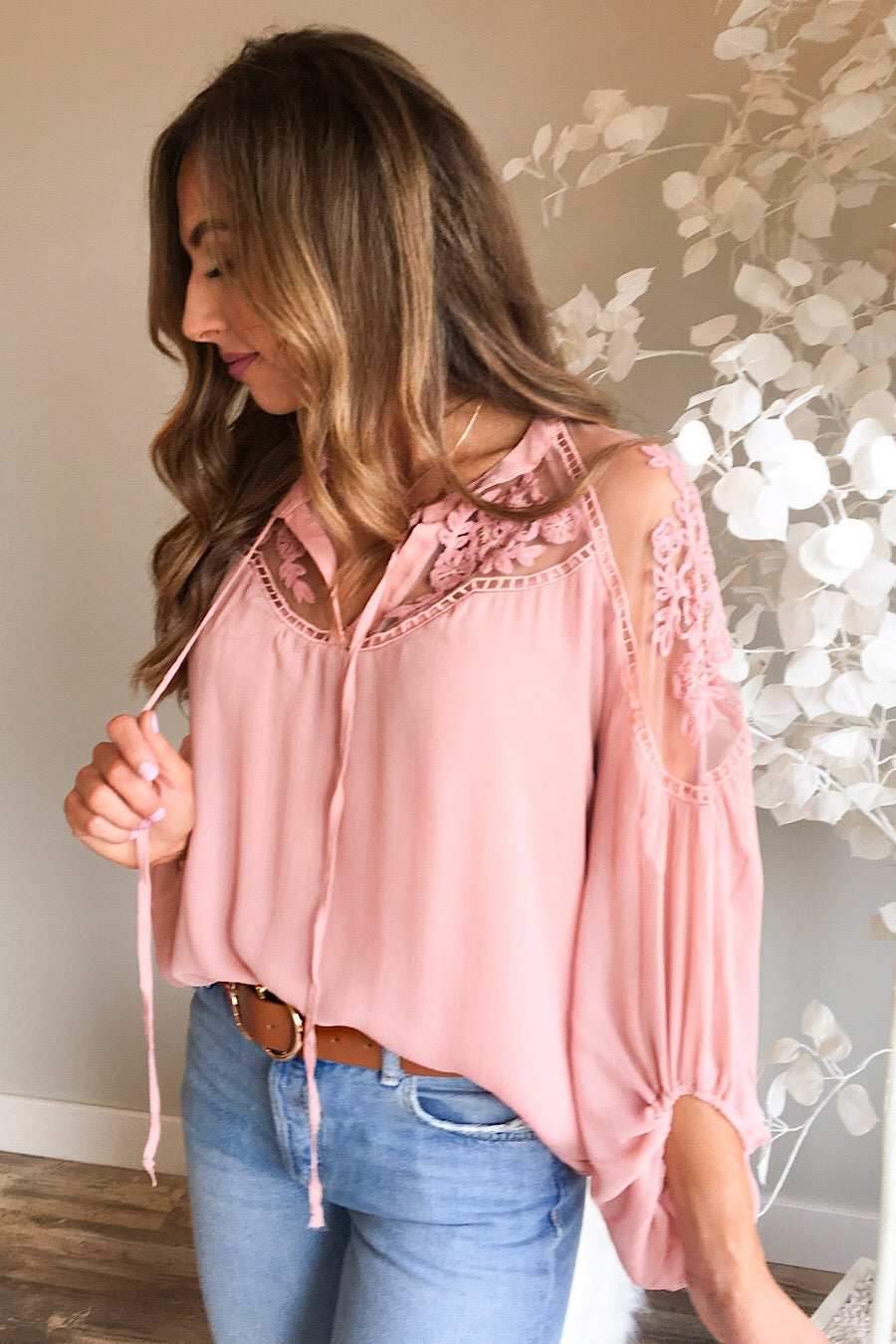 Formal Invitation Lace Blouse