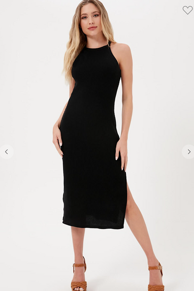 Sheldon Midi Ribbed Dress