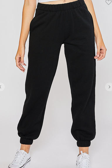 Classic Sweatpant Joggers in Black