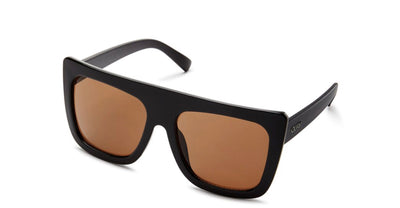 Cafe Racer Sunglasses in Black/Brown