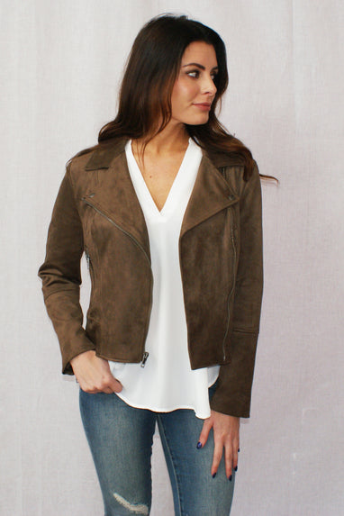 Not Your Baby Suede Jacket