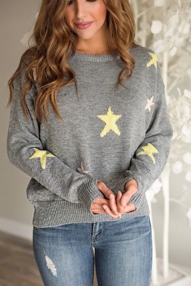 Wish Upon A Star Crew Sweater