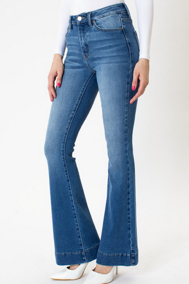 Axl Flare High Rise Jeans