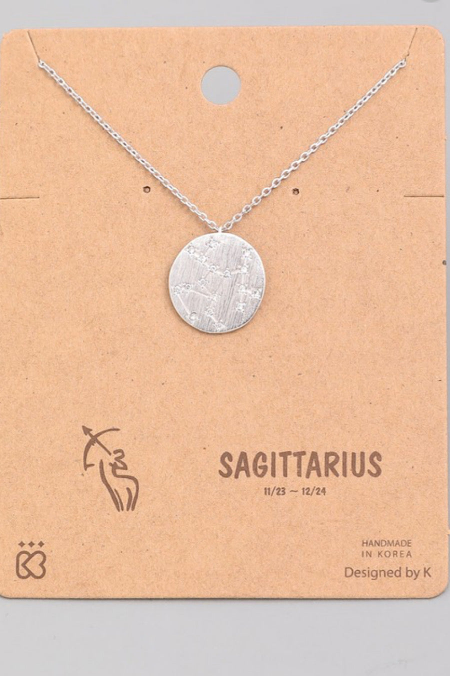 Constellation Necklace in Zodiac Signs
