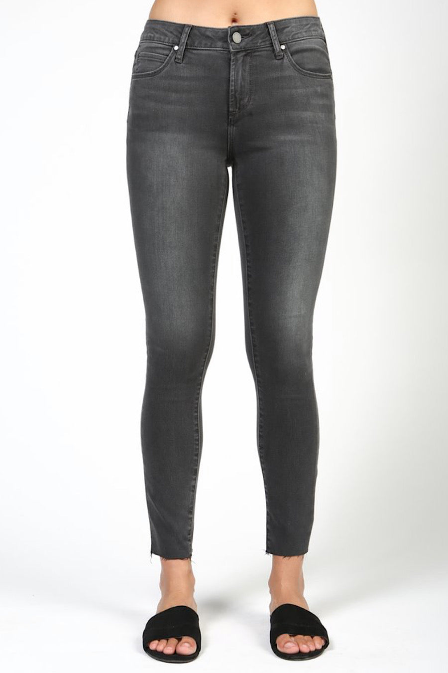 Carly Ankle Jeans in Canyon