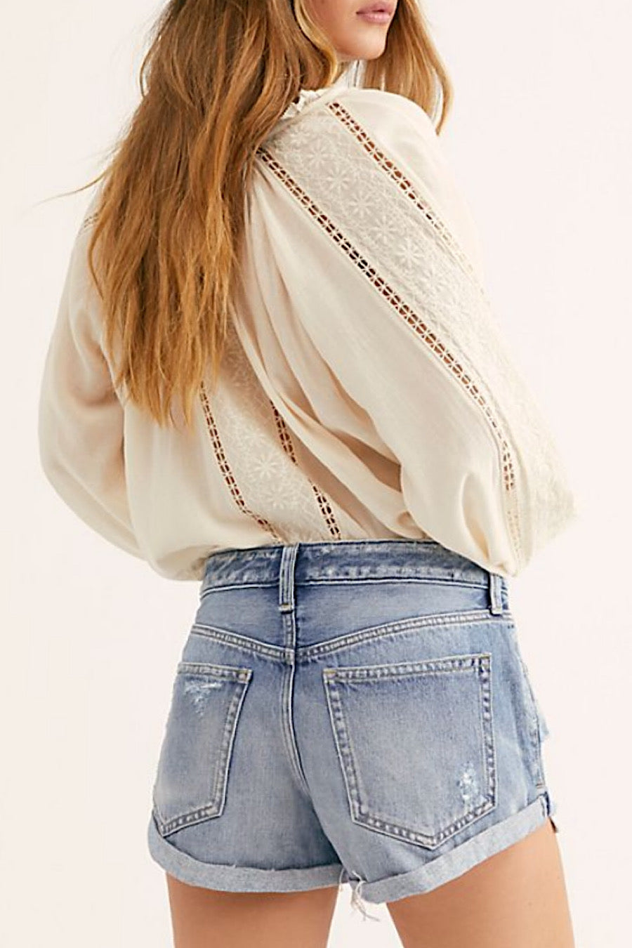 Free People Romeo Shorts in Beach Break