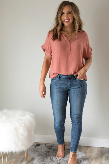Canyon Rose Blouse