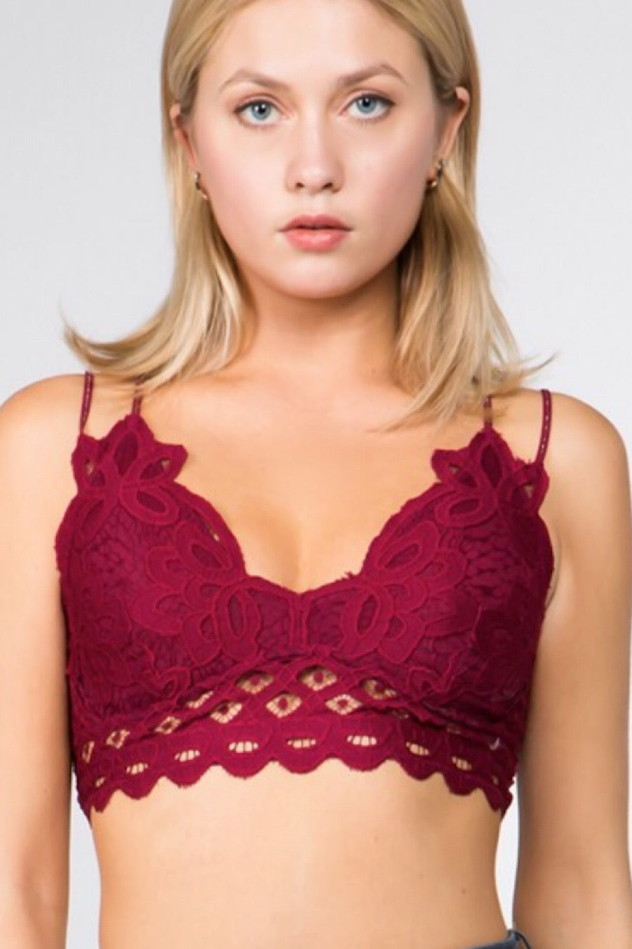 Lace Bralettes in Various Colors
