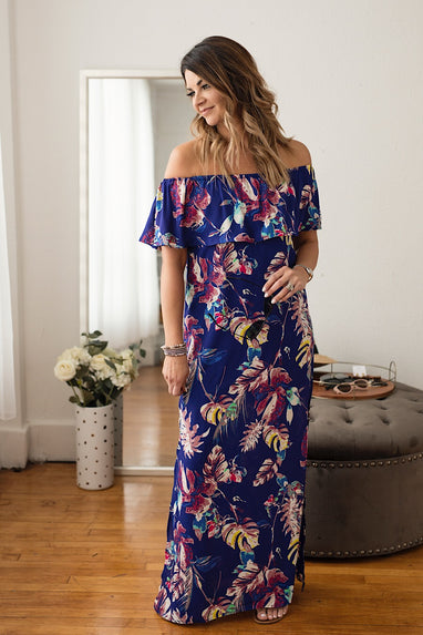 Dreamin Floral Maxi Dress