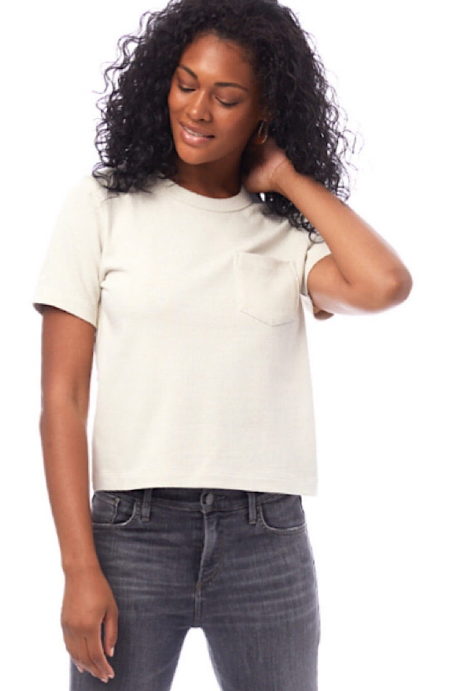 Heavyweight Recycled Cotton Top