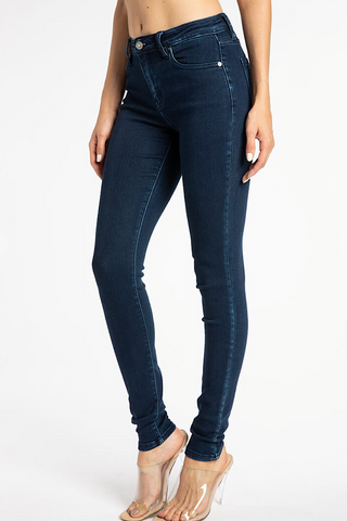 Kennedy Mid Rise Super Skinny Jeans