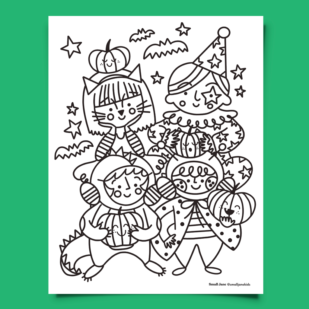 FREE! Halloween Colouring Sheet