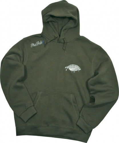 EMBROIDERED CARP HOOD