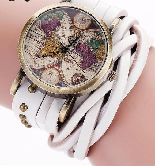 World Map BraceWatch