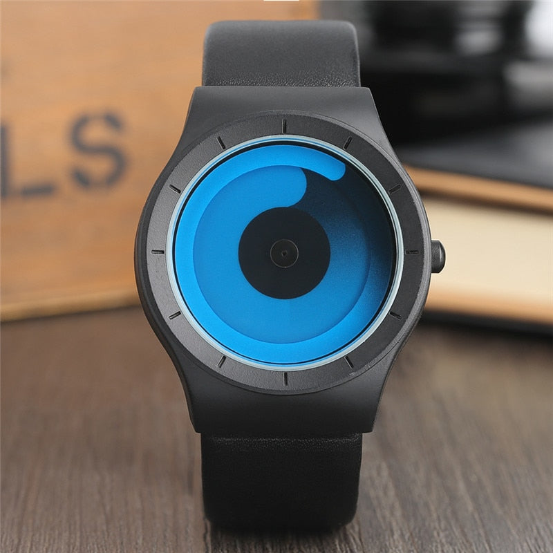 Minimalist Spiral Watch