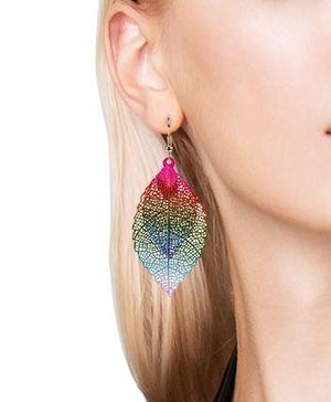 Leaf Eternity Earrings