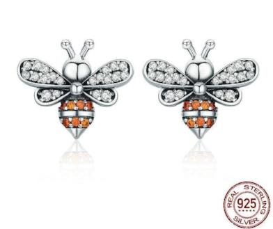 Bees Stud Earrings