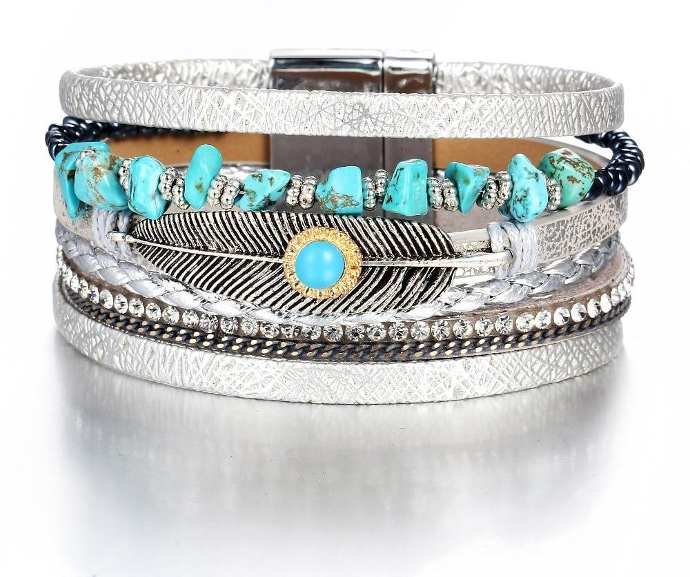 Stone Multi Layers Bracelet