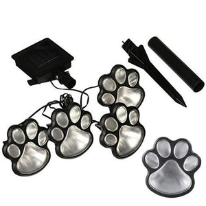 Paw FootPrint LED Solar Lights