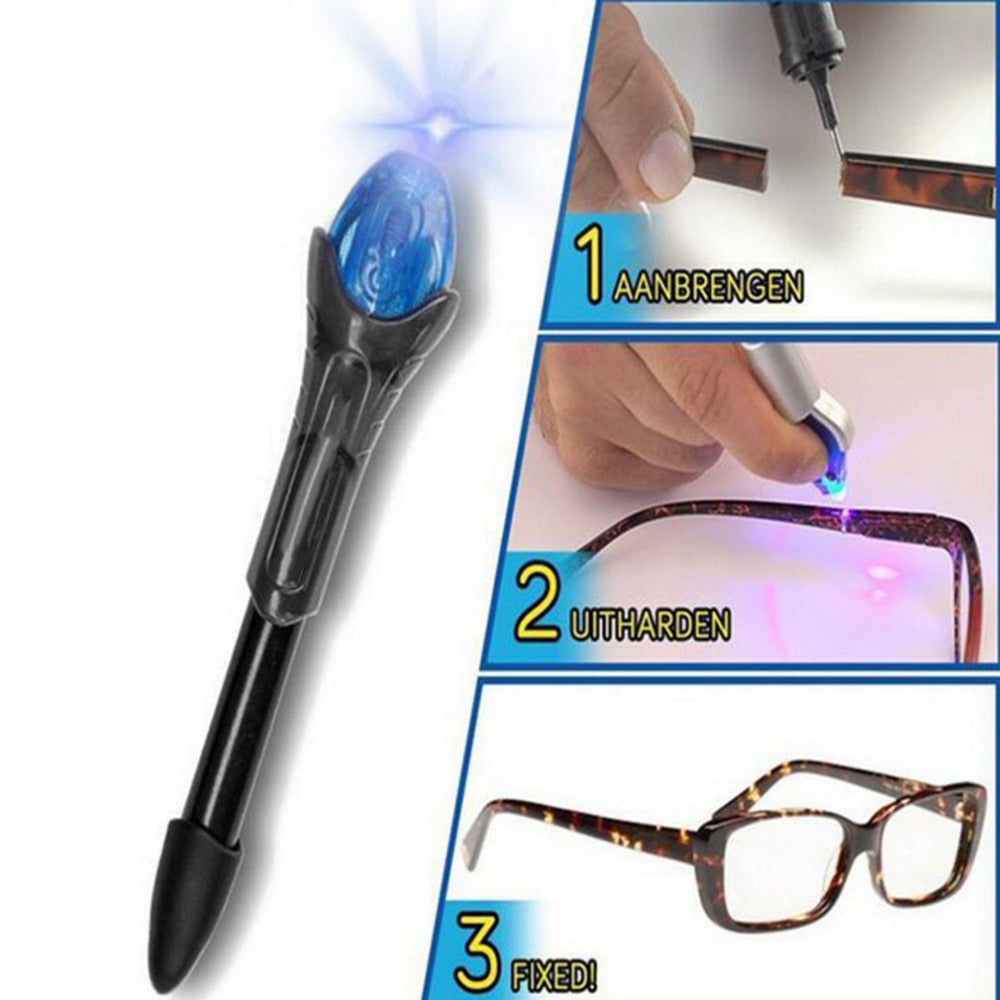 Power UV Light Fix Glue Pen