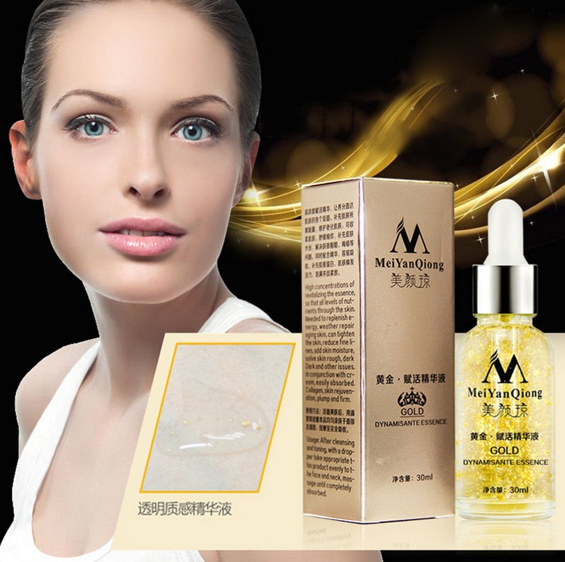24K GOLD Collagen Essence Skin Care