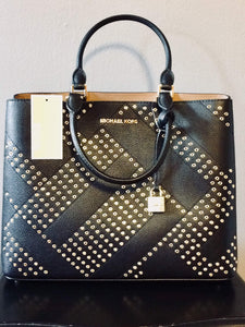 e51621f51d24 MICHAEL Michael Kors NS Adele Large Messenger Tote – Glamour and ...