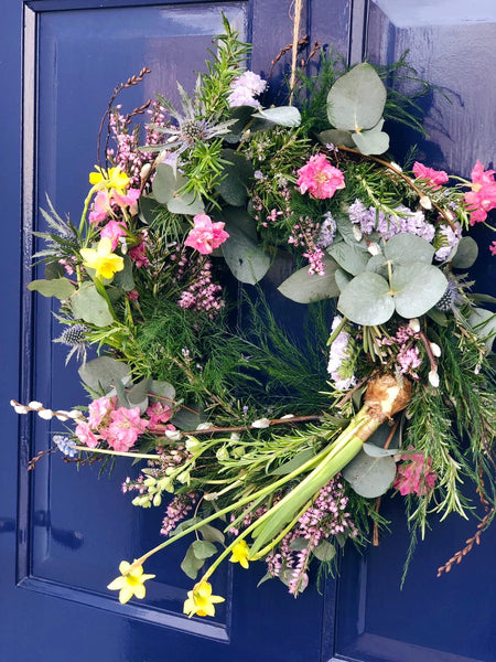 Spring Living Wreath Workshop - Saturday 22nd February 3-5pm