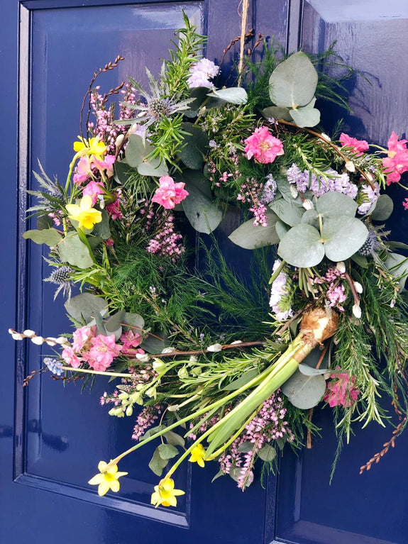 Spring Living Wreath Workshop - Saturday 7th March 3-5pm