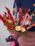 "The ""Driving Home For Tinsel"" Dried Baked Blossom Bunch"