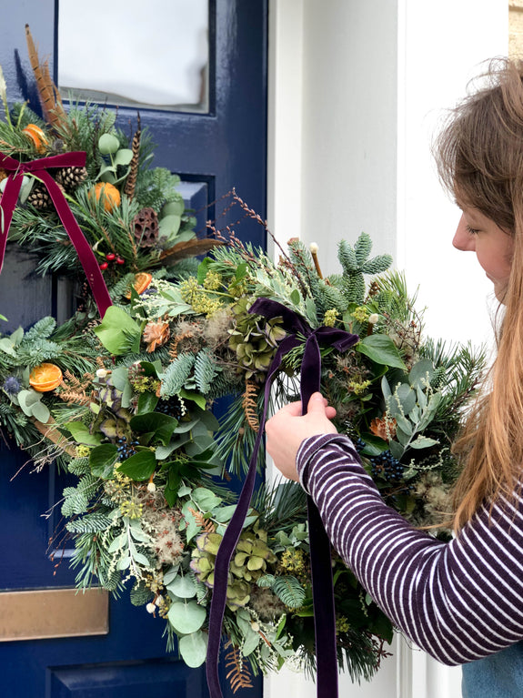 SOLD OUT Christmas Wreath Workshop - Saturday 23rd November 3-5pm