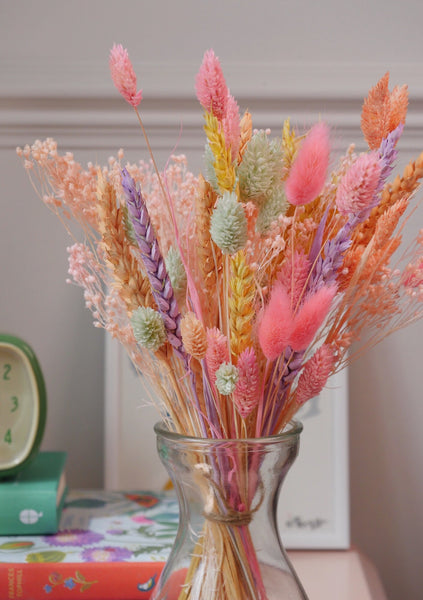 The Groovy Candy Dried Baby Baked Blossom Bunch + vase