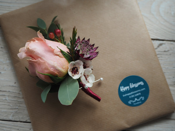 Blossoming Buttonhole Workshop - Saturday 18th May 3-5pm