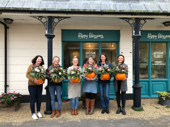 Autumn In A Pumpkin Workshop - Tues 29th October 2019, 6-8pm