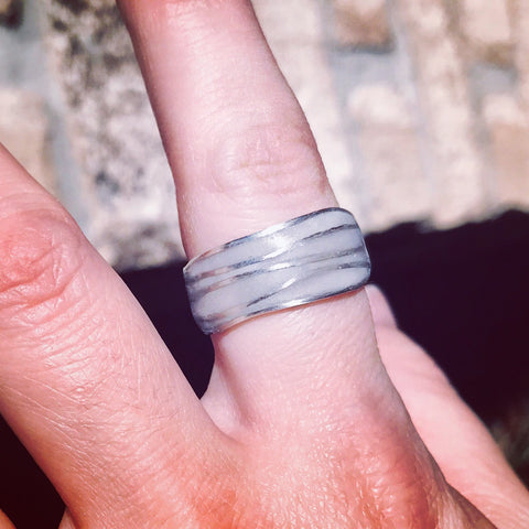 Milk Wave Ring