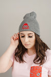 Level 1 - Grey Beanie
