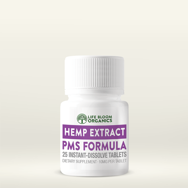 Quick-Dissolve Hemp Extract PMS Tablets