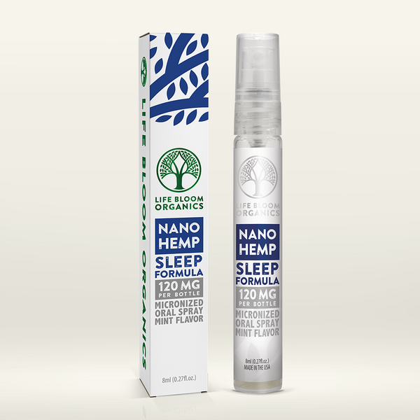 Premium Nano Hemp Sleep Spray