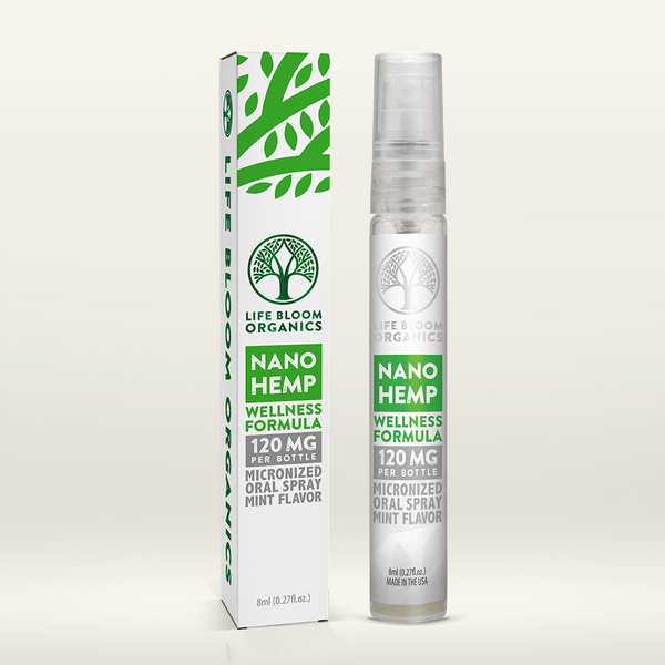 Nano Hemp Wellness Oral Spray | 120mg Hemp Oil Extract for