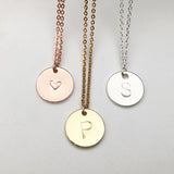 Julie Initial Necklace
