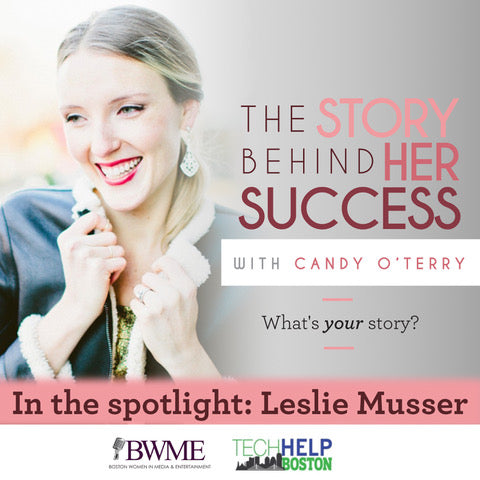 podcast interview of co-founder Leslie Musser