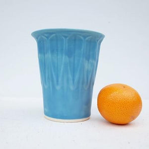 Faceted Tumbler, Blue Marble