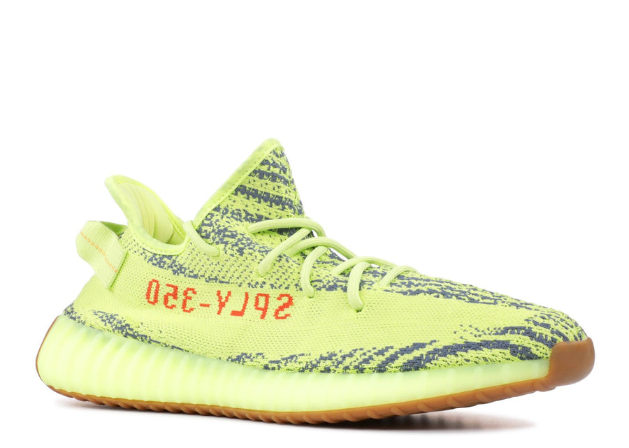 Authentic Yeezy Boost 350 V2 Semi Frozen Yellow 2
