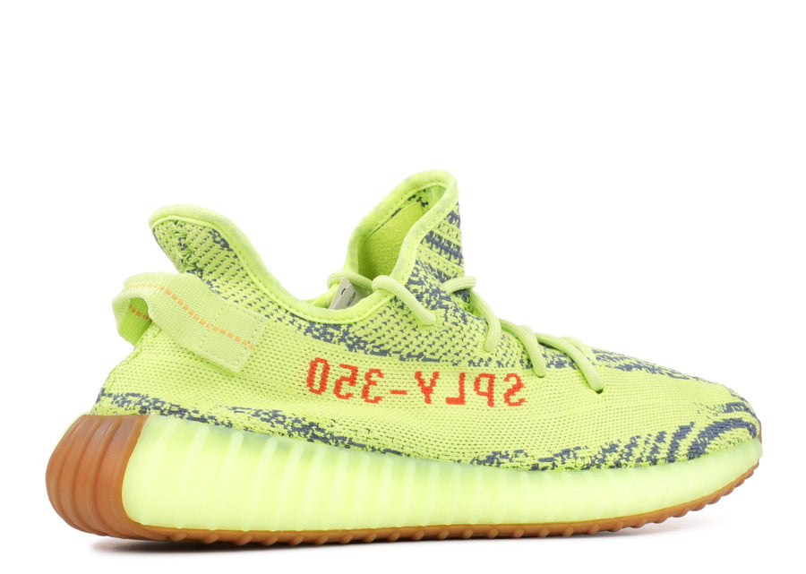 Authentic Yeezy Boost 350 V2 Semi Frozen Yellow 3