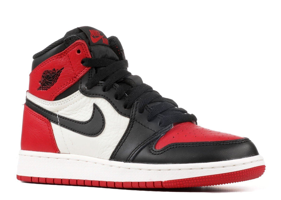 Jordan 1 Retro High Bred Toe (GS) Alternative View 1